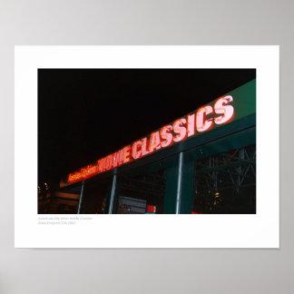 アメリカ都市ダイナー映画クラシック ポスター