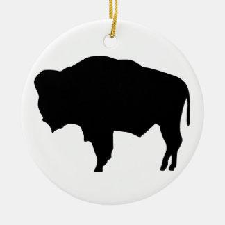 アメリカ野牛 セラミックオーナメント