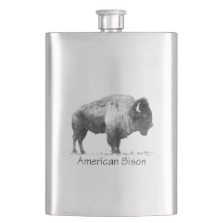 アメリカ野牛 フラスク