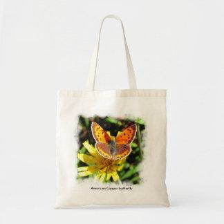 アメリカ銅の蝶~のバッグ トートバッグ