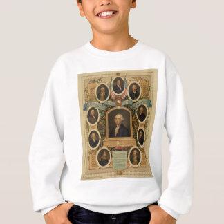 アメリカ革命の顕著な石大工 スウェットシャツ