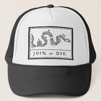 -アメリカ革命- Bフランクリン結合しますか、または死んで下さい キャップ