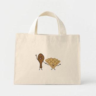 アメリカ鶏およびワッフル及び南料理 ミニトートバッグ
