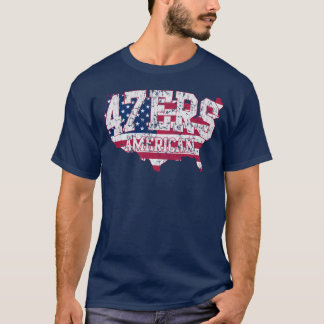 アメリカ47ers 47% RomneyのスピーチのTシャツ Tシャツ