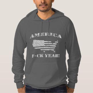 アメリカ、ええF*CK! パーカ