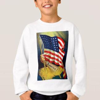 アメリカ! スウェットシャツ