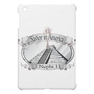 アメリカ-モルモン書-の救助者3 Nephi 11 iPad Miniカバー