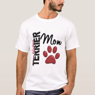 アメリカ(犬)スタッフォードテリアのお母さん2 Tシャツ