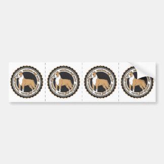アメリカ(犬)スタッフォードテリア バンパーステッカー