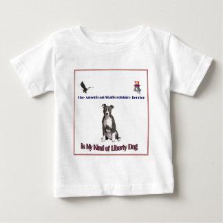 アメリカ(犬)スタッフォードテリア ベビーTシャツ