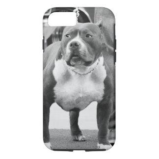 アメリカ(犬)スタッフォードテリア iPhone 8/7ケース