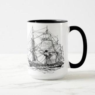 アメリカ: 船 マグカップ