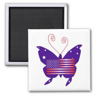 アメリカ 花型女性歌手 蝶 磁石