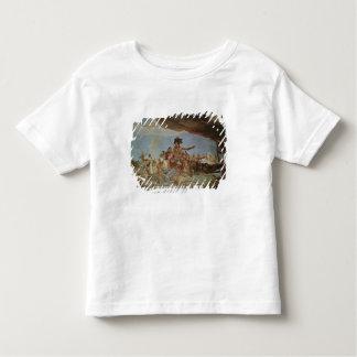 アメリカ、4つの大陸の1 トドラーTシャツ