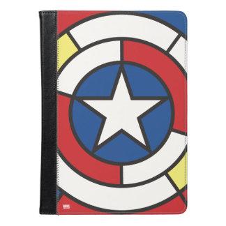 アメリカDe Stijl Abstract大尉の盾 iPad Airケース