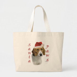 アメリカFoxhoundのサンタの足 ラージトートバッグ