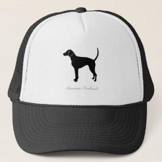 アメリカFoxhoundのシルエット キャップ