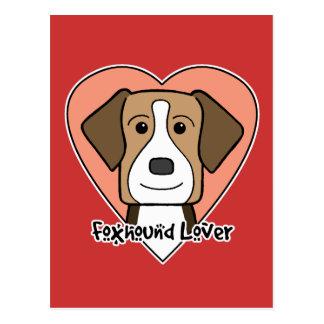 アメリカFoxhoundの恋人 ポストカード