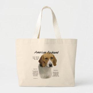 アメリカFoxhoundの歴史のデザイン ラージトートバッグ