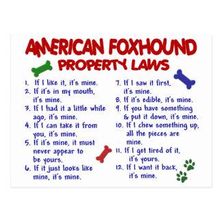 アメリカFOXHOUNDの特性の法律2 ポストカード