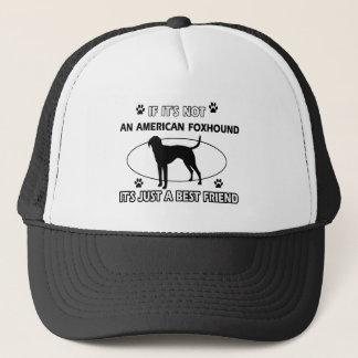 アメリカFOXHOUNDの親友のデザイン キャップ