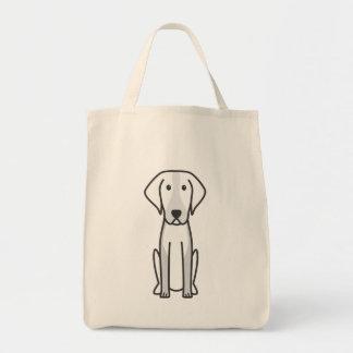 アメリカFoxhound犬の漫画 トートバッグ