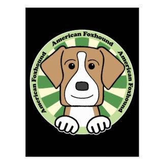 アメリカFoxhound ポストカード