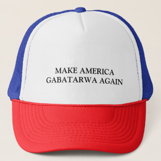 アメリカGABATARWAを再度作って下さい キャップ