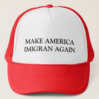アメリカIMIGRANを再度作って下さい キャップ