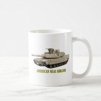 アメリカM1A1 ABRAMSタンク コーヒーマグカップ