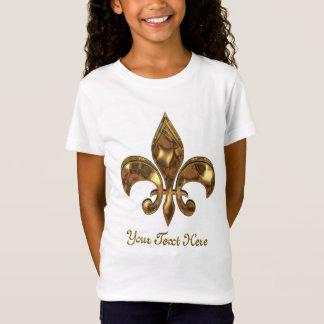 アヤメのカスタマイズ可能な子供 Tシャツ