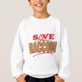 アライグマの保存 スウェットシャツ