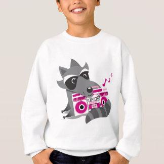 アライグマの石 スウェットシャツ