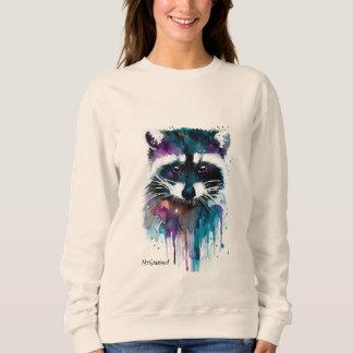 アライグマを食べ物を与えないで下さい スウェットシャツ