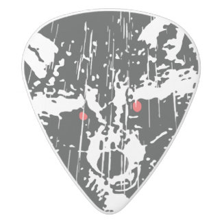 アライグマ ホワイトデルリン ギターピック
