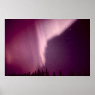 アラスカのオーロラBorealis ポスター
