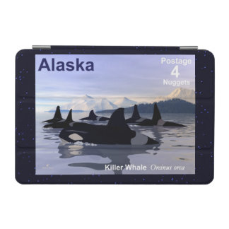 アラスカのシャチのスタンプ iPad MINIカバー