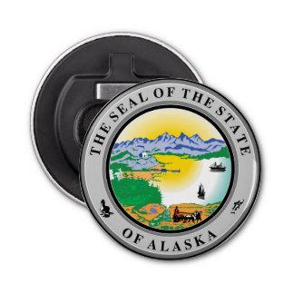 アラスカのシールの米国アメリカの旗の記号のrepu 栓抜き