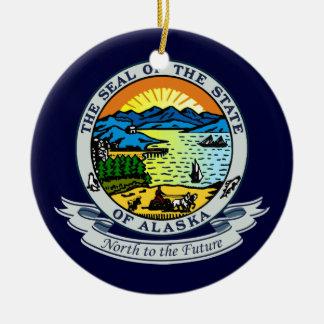 アラスカのシール セラミックオーナメント