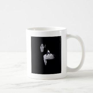 アラスカのハスキーな犬のプロフィールはカスタマイズ コーヒーマグカップ