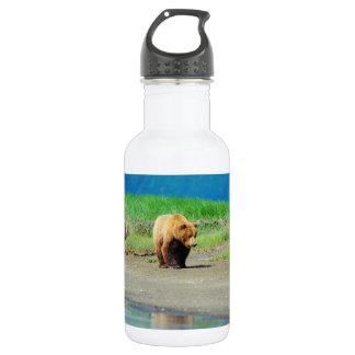 アラスカのヒグマ ウォーターボトル