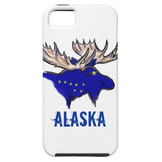 アラスカのプライドの州の旗のオオシカの芸術的なiphoneの場合 iPhone SE/5/5s ケース