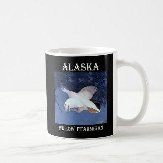 アラスカのヤナギのライチョウ コーヒーマグカップ