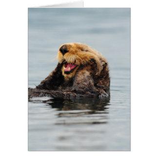 アラスカのラッコ カード
