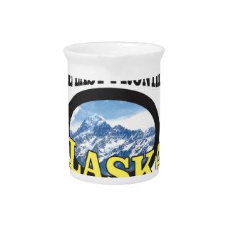アラスカのロゴの芸術 ピッチャー