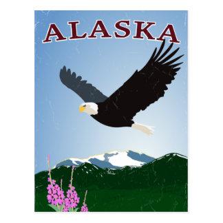 アラスカのワシの郵便はがき ポストカード