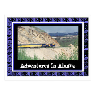 アラスカの冒険 ポストカード