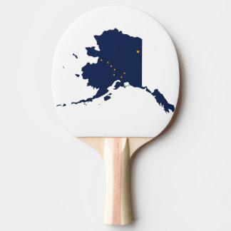 アラスカの地図 卓球ラケット