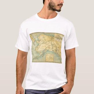 アラスカの地図 Tシャツ