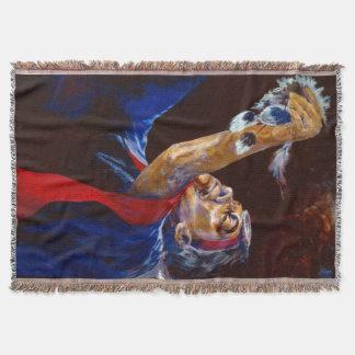 アラスカの天然年長者のダンス毛布 スローブランケット